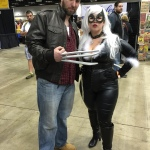 Black Cat and Logan