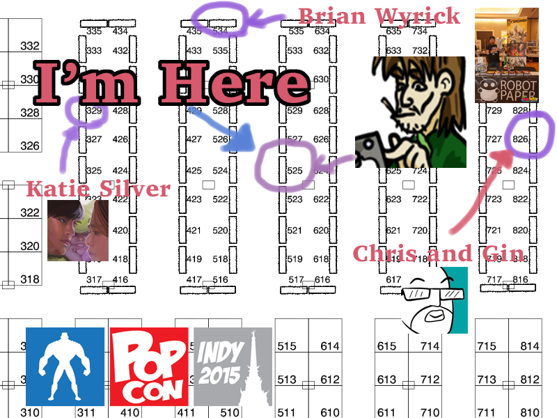 Booth #525, come stop by