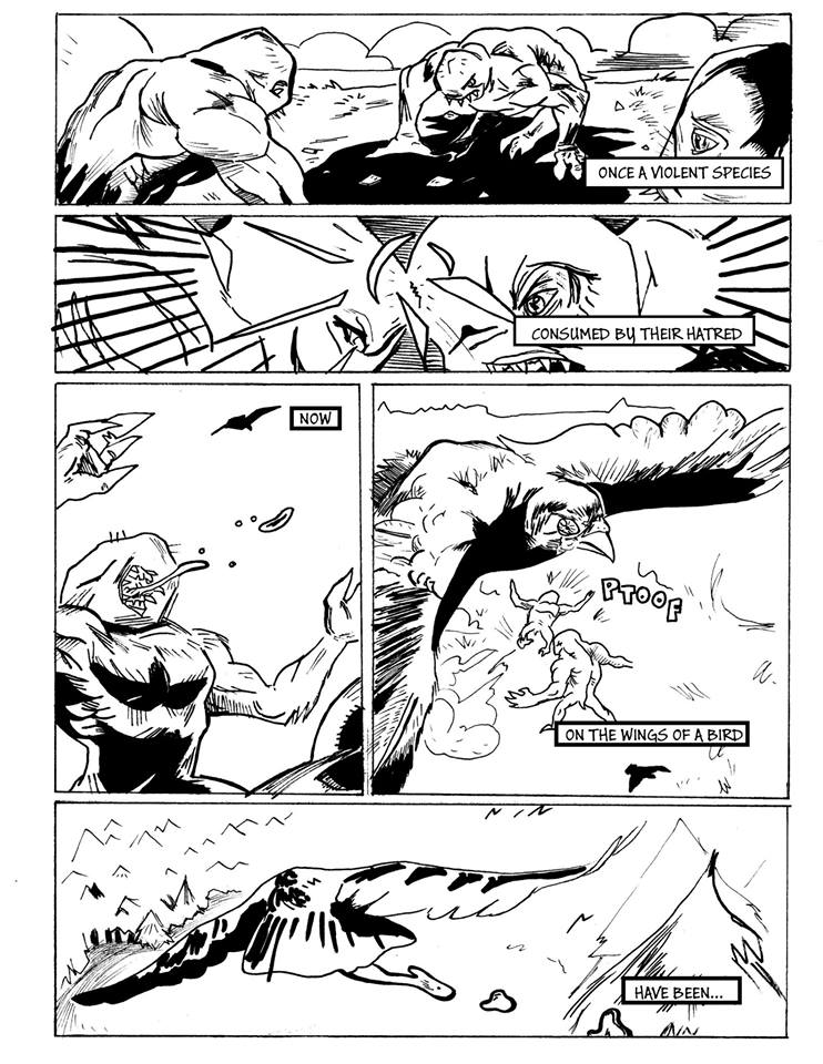 College Beast Comic – 01