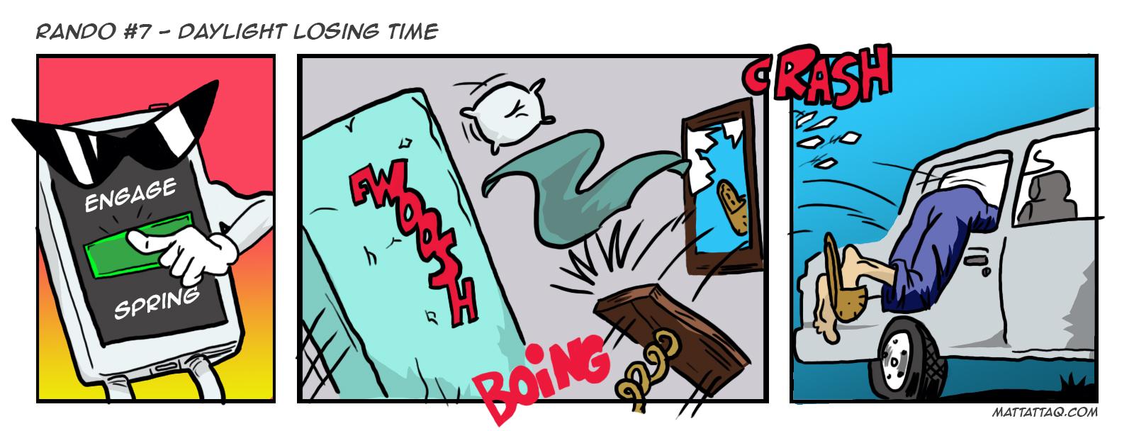 Rando 07 – Daylight Losing Time